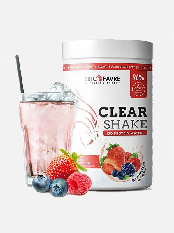 Acheter clear shake iso protein water eric favre gout fruits rouge voreppe - Compléments alimentaires