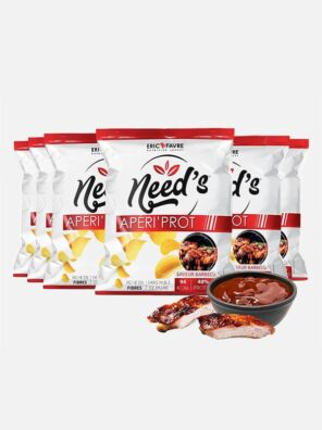 Chips protéiné need's saveur barbecue - eric favre complement alimentaire